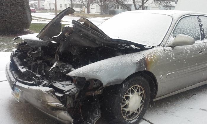 car aftermath